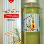 Aceite Masajes Aromaterapia Vital Natur