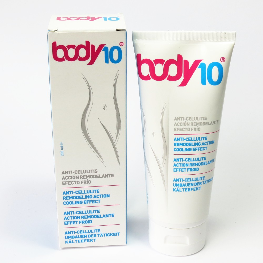 Crema Anticelulítica Body10 Diet Esthetic
