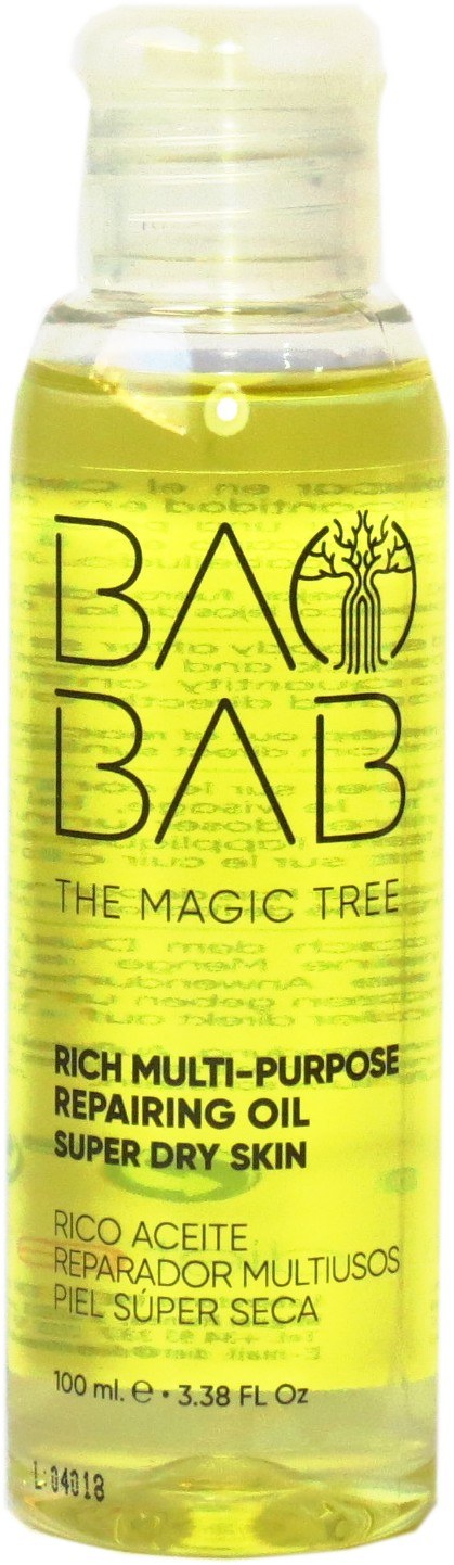 Aceite Reparador para pieles Secas Baobab