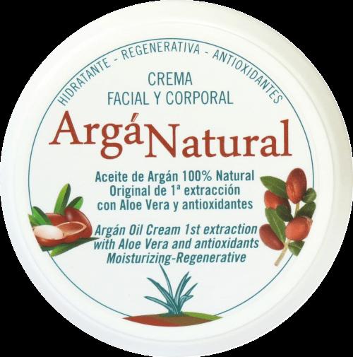 crema de argan y aloe vera arganatural